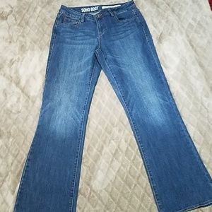 DKNY Soho boot cut jeans